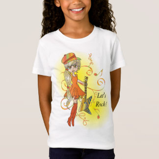 Rock N Roll Groovy Hip Chick T-Shirt