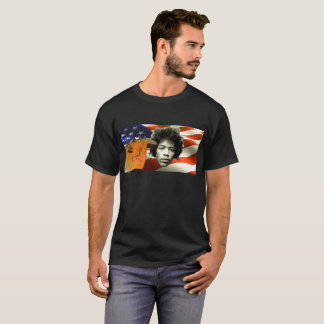 Rock N Roll Guitars Music Patriots Tee Shirt