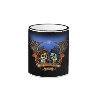 Rock N Roll Hell! - Designer Cup Coffee Mugs