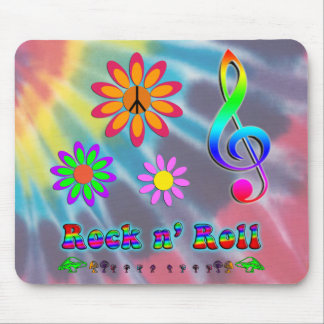 Rock n' Roll Mouse Pad