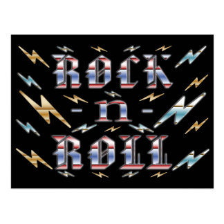 Rock-n-Roll Postcard