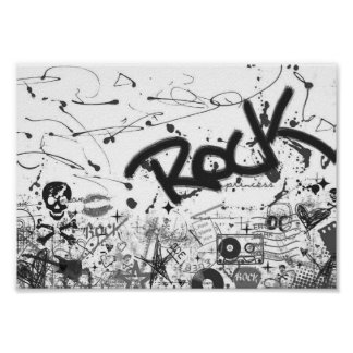 Rock 'N Roll Poster