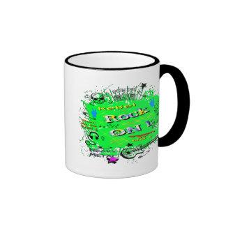 Rock n' Roll Rebel T-Shirts & Gifts Ringer Mug