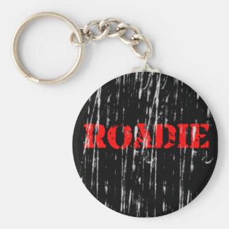 Rock 'n Roll Roadie Keychain