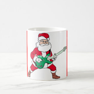 Rock 'N Roll - Santa, Rock and Roll Santa! Mug