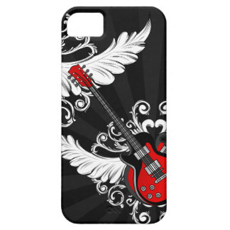 Rock n Roll Vintage Winged Guitars iPhone5 case