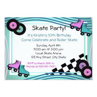 Rock N' Roller Skate Card