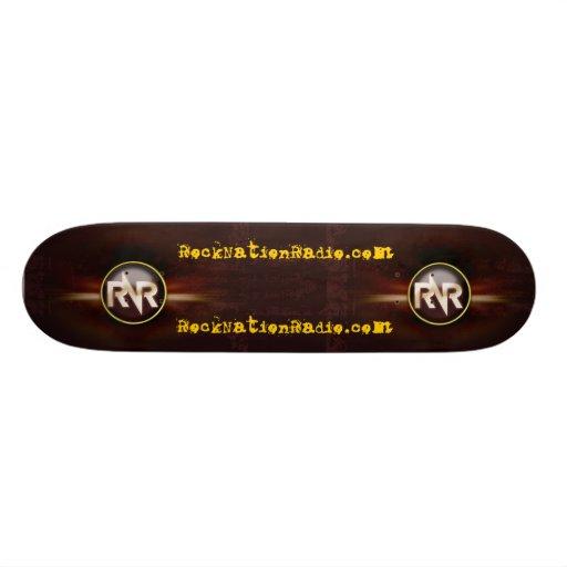 Rock Nation Radio Skateboard Decks