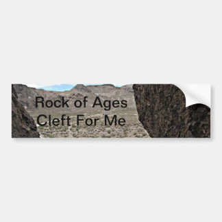 Rock of Ages Death Valley Photograph Bumper Sticker