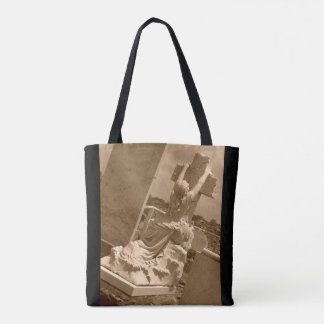 Rock of Ages Grave Stone Tote