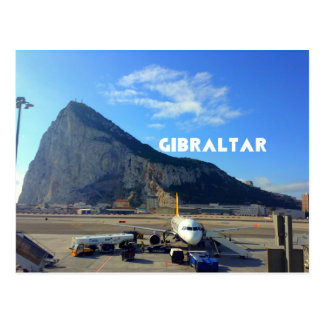 Rock of Gibraltar Airport Postcard