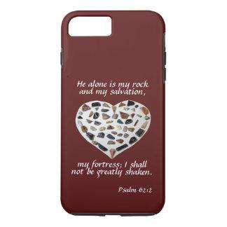 Rock of My Salvation Bible Verse Phone Case