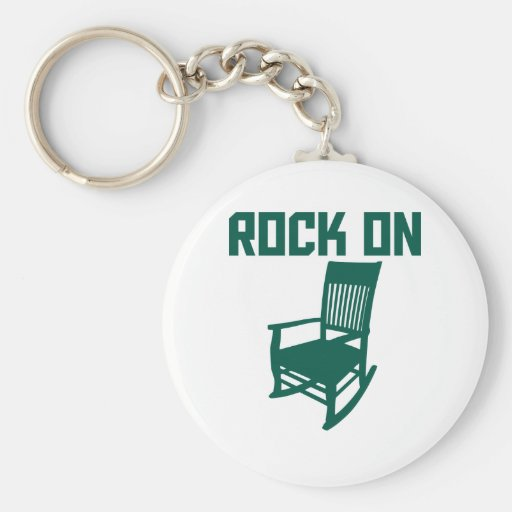 Rock On Key Chains