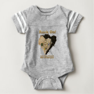 ROCK ON! Love Hike Protect Our Public Lands Baby Bodysuit