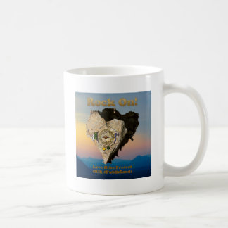 ROCK ON! Love Hike Protect Our Public Lands Coffee Mug