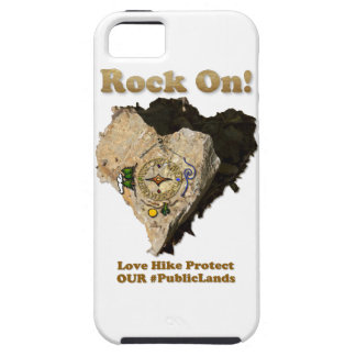 ROCK ON! Love Hike Protect Our Public Lands iPhone 5 Cases