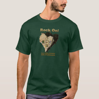 ROCK ON! Love Hike Protect Our Public Lands T-Shirt
