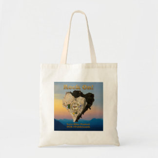 ROCK ON! Love Hike Protect Our Public Lands Tote Bag
