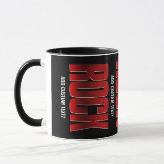 ROCK on. Modern rock n roll music cups
