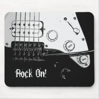 Rock On! Mouse Pad