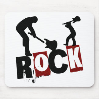 Rock On-Mousepad Mouse Pad