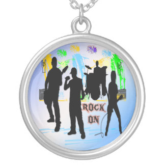 Rock On - Rock n' Roll Band Necklace