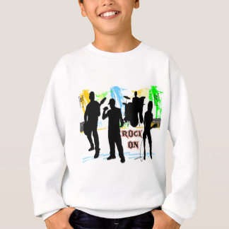Rock On - Rock n' Roll Band Sweatshirt