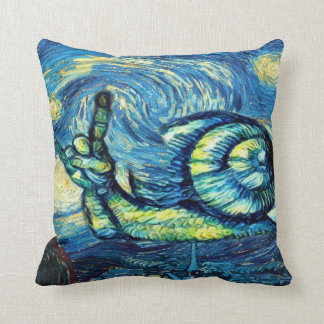 Rock On Snail Cushion