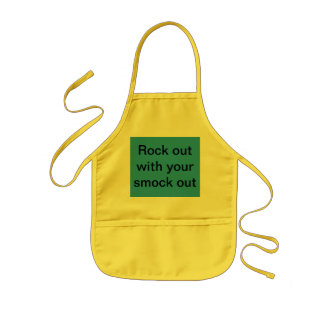 Rock out with your smock out kids apron