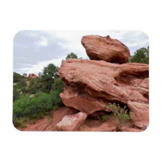 Rock Outcrop at Garden of the Gods Magnet