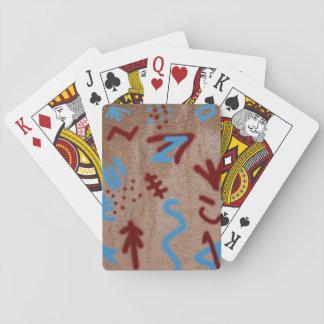 Rock Paint Art Poker Deck