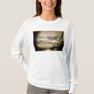 Rock painting of a black cow, c.17000 BC T-Shirt