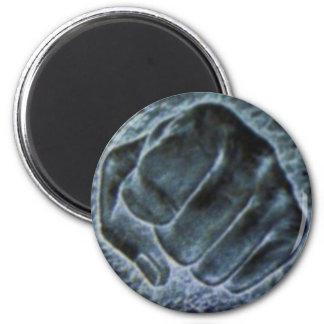 Rock Paper Scissors 6 Cm Round Magnet