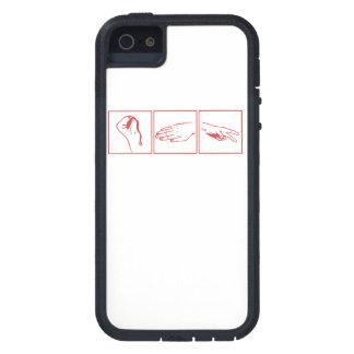 Rock Paper Scissors iPhone 5 Case