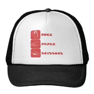 Rock Paper Scissors Trucker Hats
