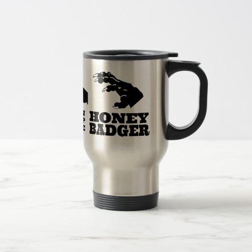 Rock Paper Scissors -- Honey Badger! Coffee Mugs