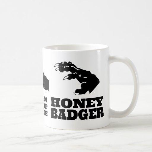 Rock Paper Scissors -- Honey Badger! Mugs