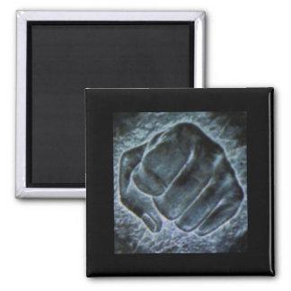 Rock Paper Scissors Square Magnet