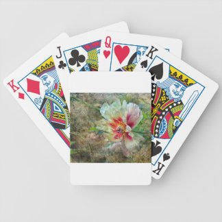 Rock Peony Bicycle Playing Cards