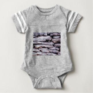 rock pile formed baby bodysuit