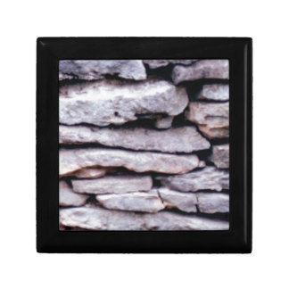 rock pile formed gift box