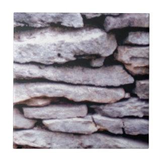 rock pile formed tile