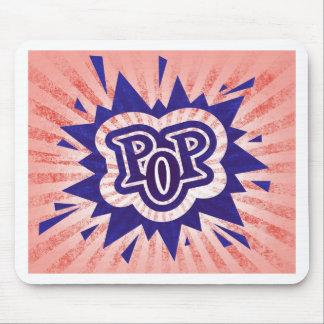 Rock Pop Music Sign Design Signal Rocking Funny S Mousepad