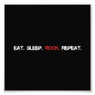 Rock Repeat Art Photo