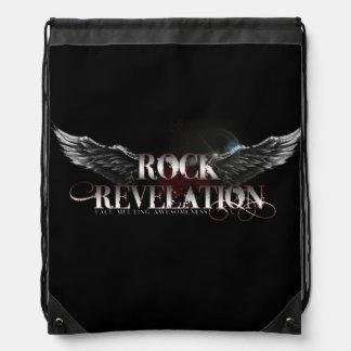 Rock Rev Drawstring Bag