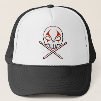 Rock & Roll Cap Heavy Metal Drummer Hates & Caps
