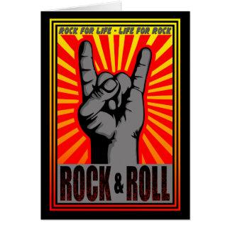 Rock & Roll Card