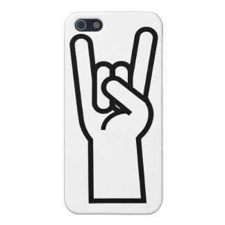 Rock & Roll Hand Symbol iPhone 5 Cases