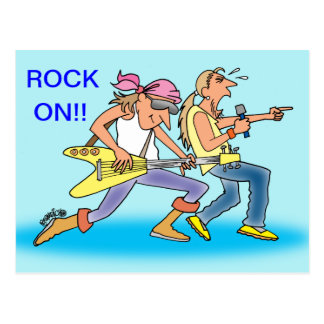 ROCK & ROLL POST CARDS FOR ROCKERS