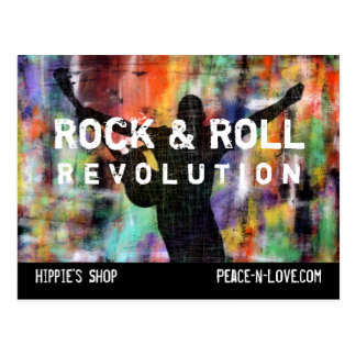 Rock & Roll Revolution Postcard